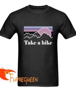 patagonia take a hike t shirt
