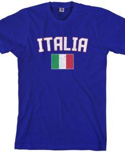 Italia Flag tshirt NA
